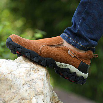 New Men'S Leisure Low-Top Mountaineering Shoes - LIGHT BROWN 43