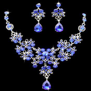 |The bride necklace  The bride of jewelry  Bridal necklace earrings suit  Wedding jewelry  Vintage Wedding Jewelry - ROYAL ROYAL