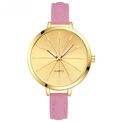 GAIETY G321 Women Fashion Leather Watch - PINK