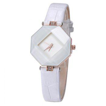 Reebonz New Fashion Lady Diamond Quartz Watch - WHITE WHITE