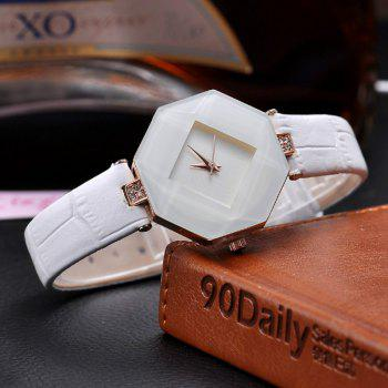 Reebonz New Fashion Lady Diamond Quartz Watch -  WHITE