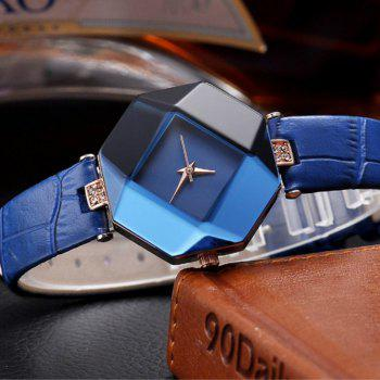 Reebonz New Fashion Lady Diamond Quartz Watch - BLUE