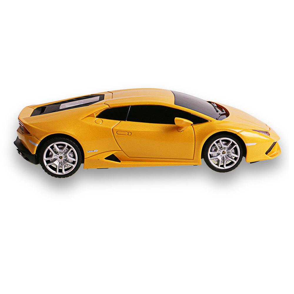 Attop 1811 Lamborghini Fine Simulation Model Toy Remote Control Car At 1:18 - YELLOW