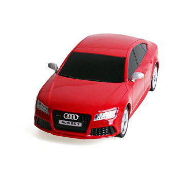 Attop 2410 Audi RS7 1:24 emulation remote-controlled drift sports car - RED RED
