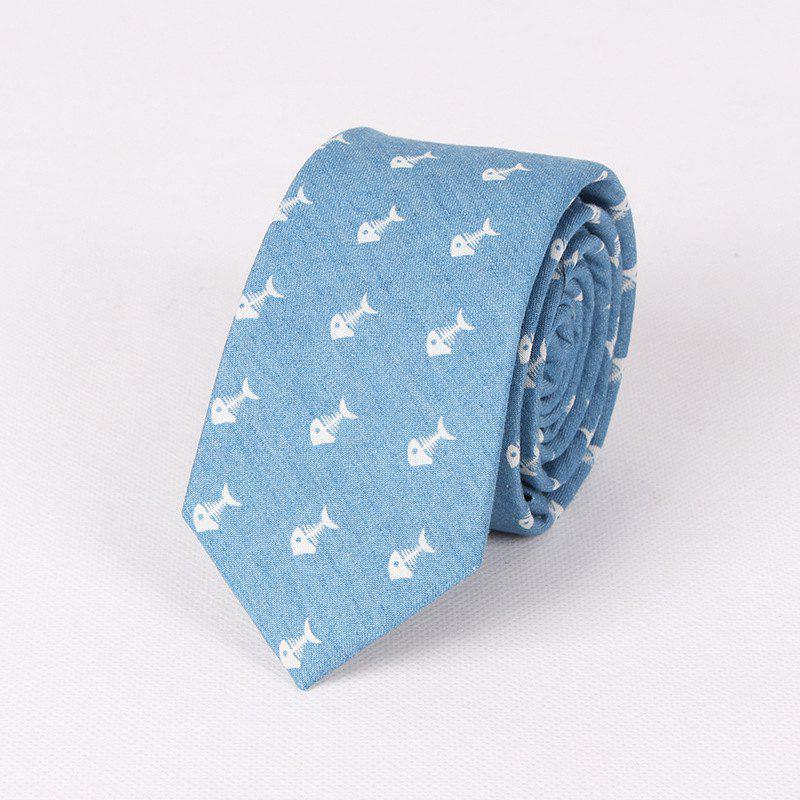 Casual Denim Printing Men'S Tie - CHARM