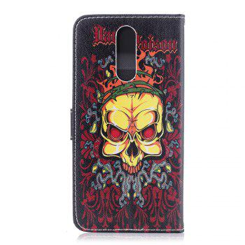 For Huawei Mate10Lite Color Painting Cover Lady Phone Protection Cover - YELLOW