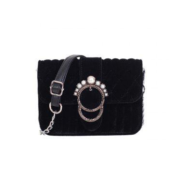 Velvet Mini Crossbody Bag Authentic Female All