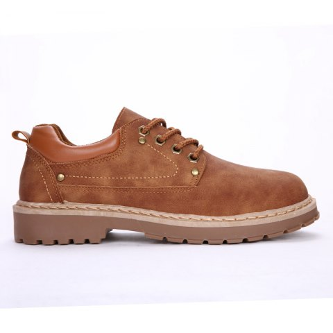 New Men'S Outdoor Retro Leisure Sneakers - BROWN 41