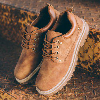 New Men'S Outdoor Retro Leisure Sneakers - BROWN 44