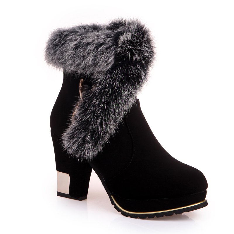Fashion Warm and High Heeled Boots high tech and fashion electric product shell plastic mold