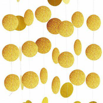 She Said Yaaas Banner Gold Glitter Party Supplies Bachelorette Parties Decorations - GOLD 1 SET