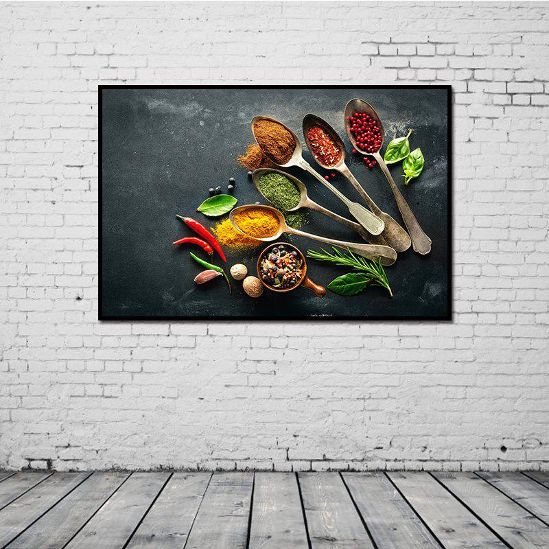 Modern HD Frameless Canvas Print for Home Wall Decoration modern dictionary art style canvas print frameless home decoration