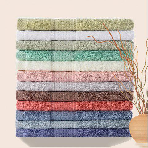Pure Cotton Soft Absorbent Adult Lovers Towel - LIGHT GRAY 32CM X 73CM