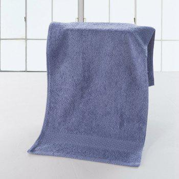 Pure Cotton Soft Absorbent Adult Lovers Towel - LIGHT PURPLE 32CM X 73CM