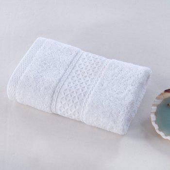 Pure Cotton Soft Absorbent Adult Lovers Towel - WHITE WHITE