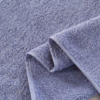 Pure Cotton Soft Absorbent Adult Lovers Towel - BLUE GRAY 32CM X 73CM