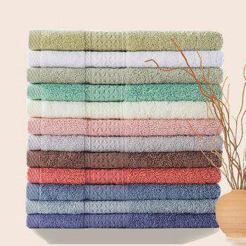 Pure Cotton Soft Absorbent Adult Lovers Towel - BRICK-RED BRICK RED
