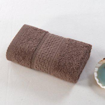 Pure Cotton Soft Absorbent Adult Lovers Towel - COFFEE COLOR COFFEE COLOR