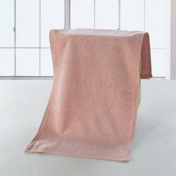 Pure Cotton Soft Absorbent Adult Lovers Towel - BABY PINK BABY PINK