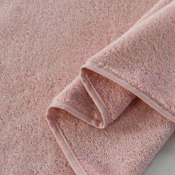 Pure Cotton Soft Absorbent Adult Lovers Towel - BABY PINK 32CM X 73CM