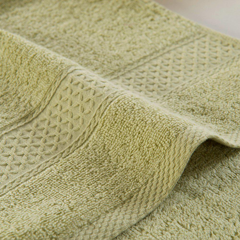 Pure Cotton Soft Absorbent Adult Lovers Towel - LIGHT GREEN 32CM X 73CM