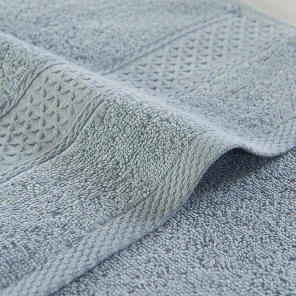 Pure Cotton Soft Absorbent Adult Lovers Towel - IN GREY 32CM X 73CM