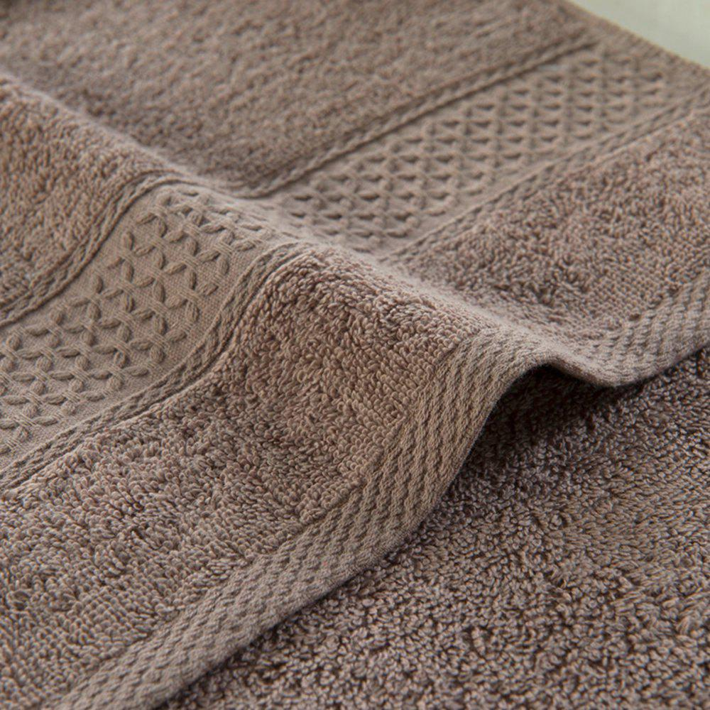 Pure Cotton Soft Absorbent Adult Lovers Towel - COFFEE COLOR 32CM X 73CM
