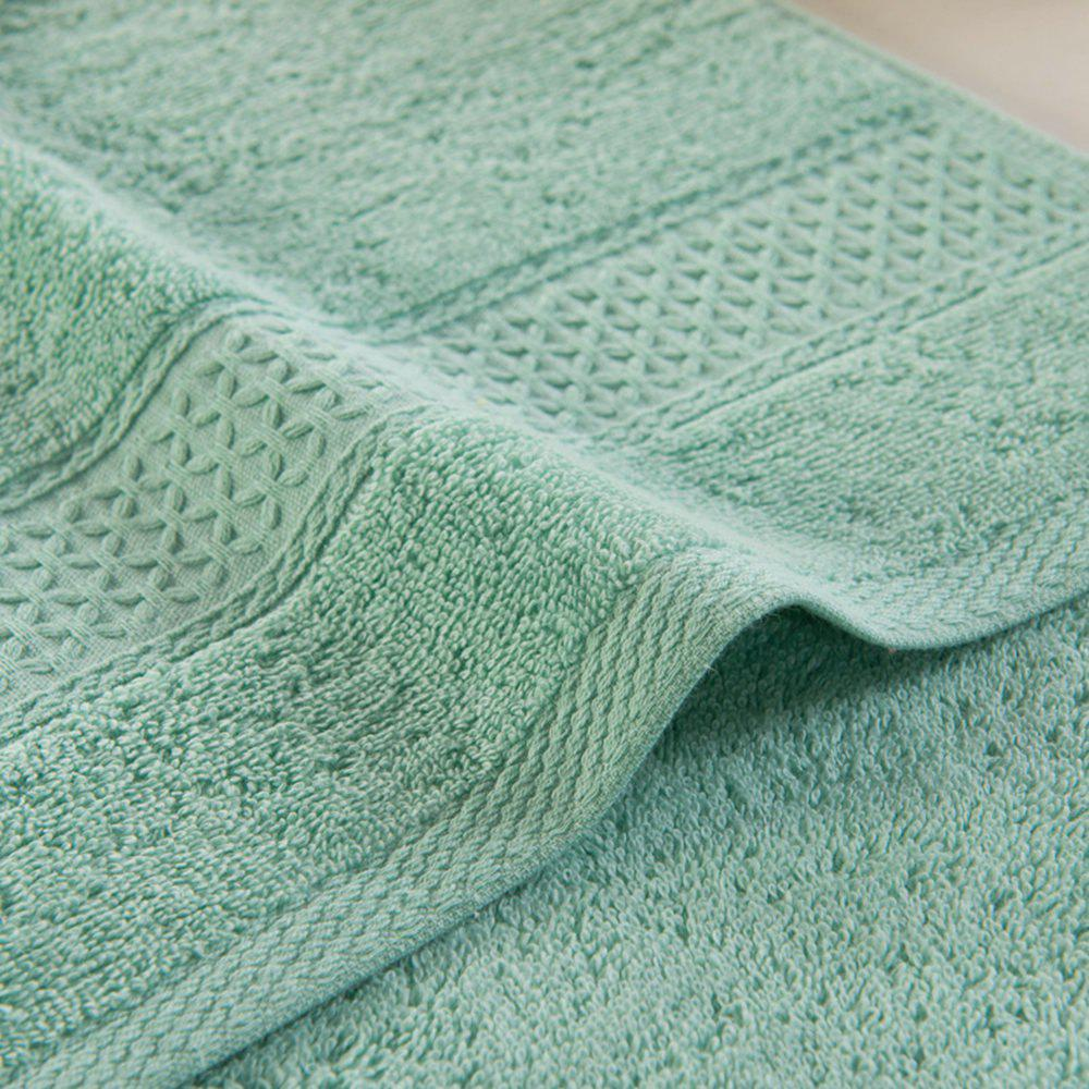 Pure Cotton Soft Absorbent Adult Lovers Towel - OLIVE GREEN 32CM X 73CM