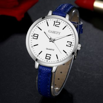 GAIETY G362 Women Watch Small Leather Band Fashion Watches - ROYAL
