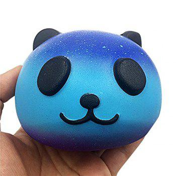Kawaii Cute Slow Rising Panda Baby Hand Toy Squeeze for Kids Christmas Gift - BLUE