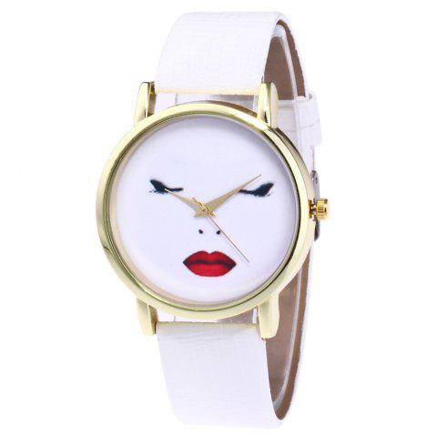 Zhoulianfa Fashion Mesh Strap Male Female Watch Flower Pattern Quartz Wristwatch Comfortable And Easy To Wear Lover's Watches
