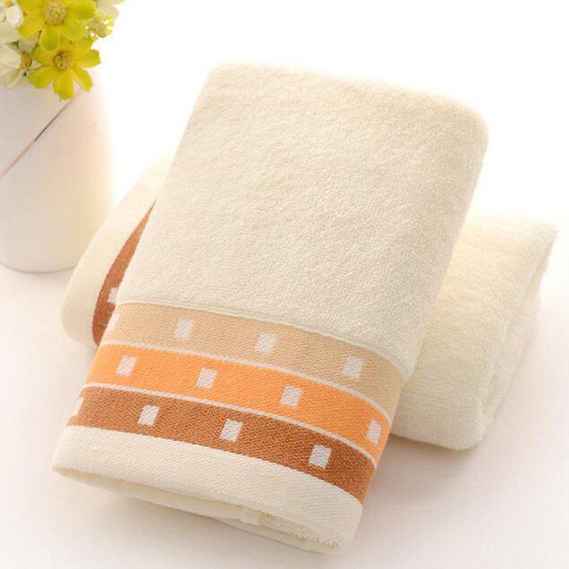 1 Pc Towel Simple Solid Color Thick Home Use Towel Gift Towel кашпо gift n home сирень