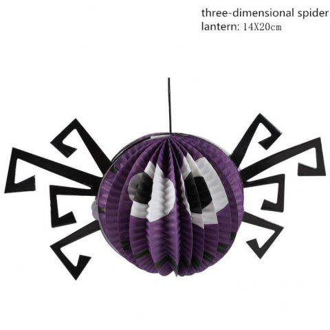 Fancy Cartoon Pumpkin Paper Lantern Halloween Party Decoration Bar Decoration Props Halloween Supplies - AS THE PICTURE 8