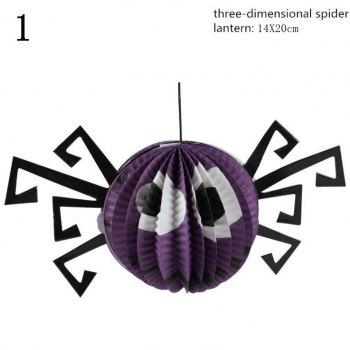 Fancy Cartoon Pumpkin Paper Lantern Halloween Party Decoration Bar Decoration Props Halloween Supplies - AS THE PICTURE 7