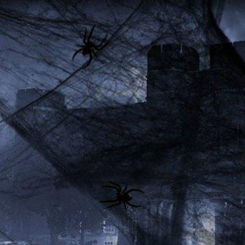 Halloween Spider Cotton Spider Web Accessories Haunted House Tranquil Decorative Props for Halloween Decor - WHITE 1 BAG