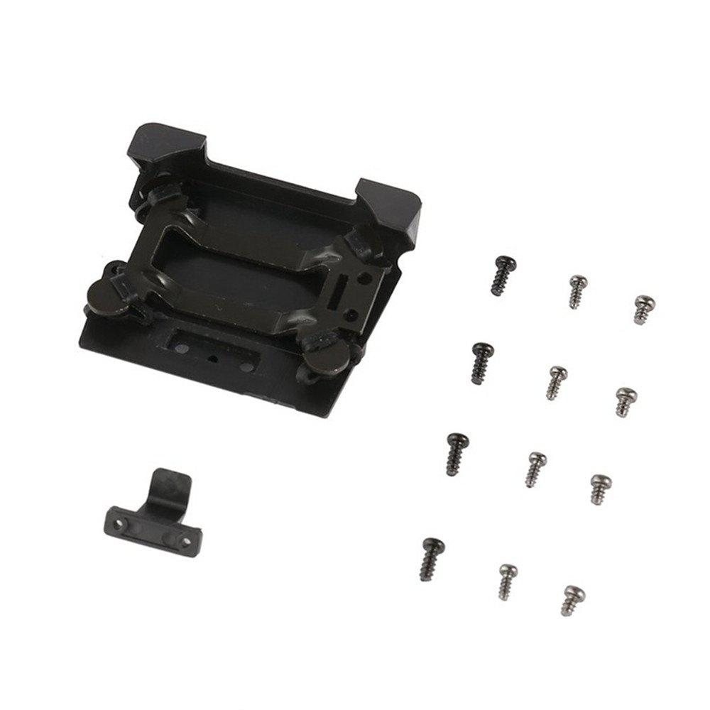 Gimbal Vibration Absorbing Board Shock Absorber Damping Bracket Hanging Plate for DJI Mavic Pro Drone Spare Parts Access - BLACK