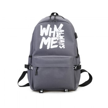 School Bag New College Style Wild Wave