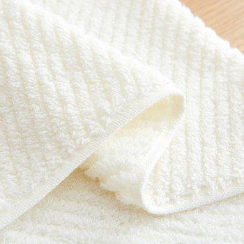 Long Staple Cotton Super Soft Wash Face Household Towel - OFF WHITE OFF WHITE