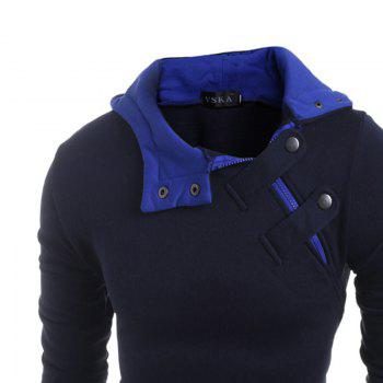 Men's S Fleece à capuche - Bleu Cadette L