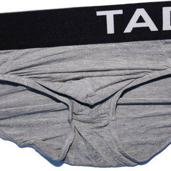 Taddlee 4pcs Men's Briefs Low Rise Underwear - multicolor multicolor