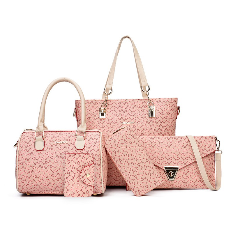 Tide Fashion Handbag Shoulder Messenger Bag - PINK