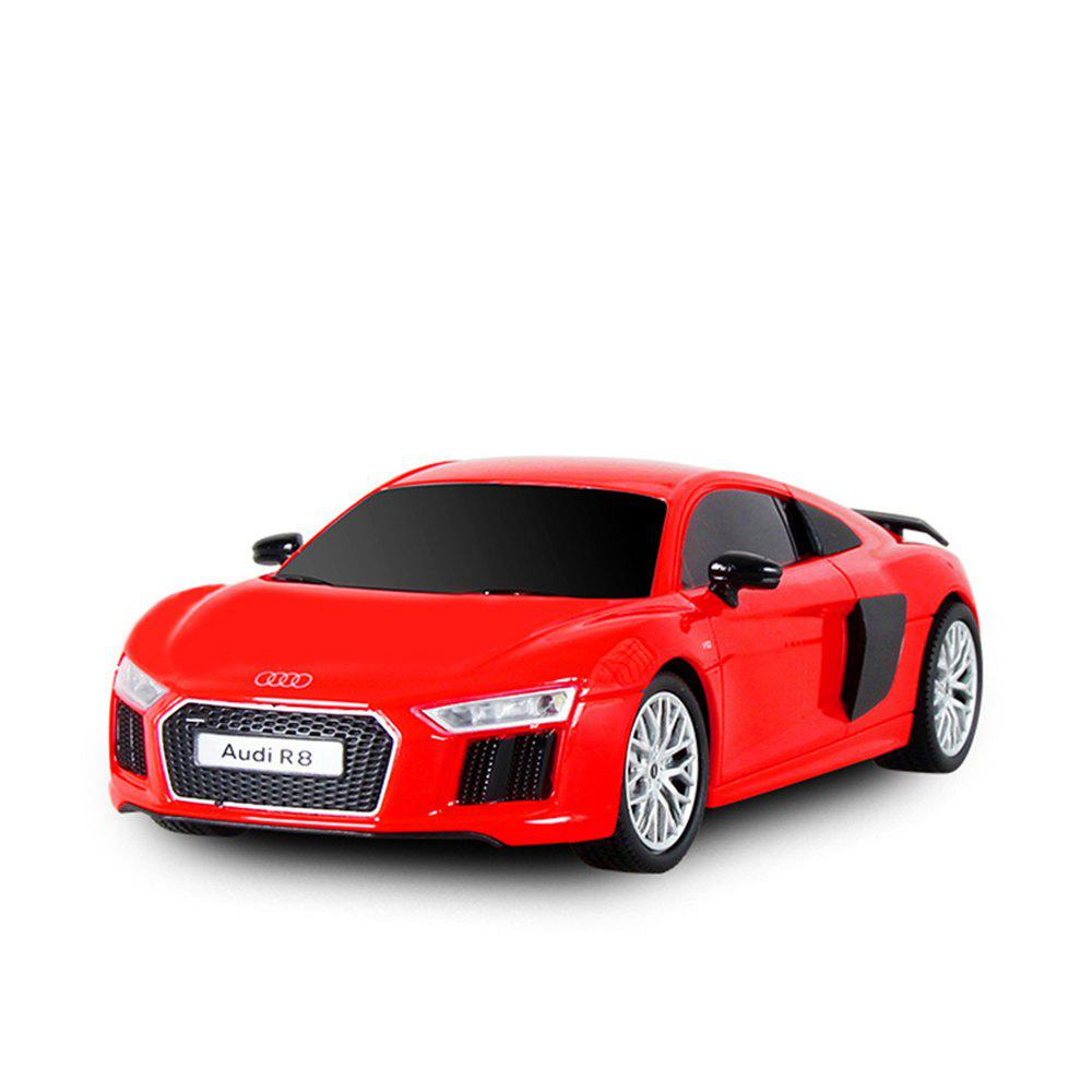 Attop 1815 Audi R8 1:18 Authorizes Remote Control Car Simulation Drifting Racing Car Racing Model Toy Car - RED