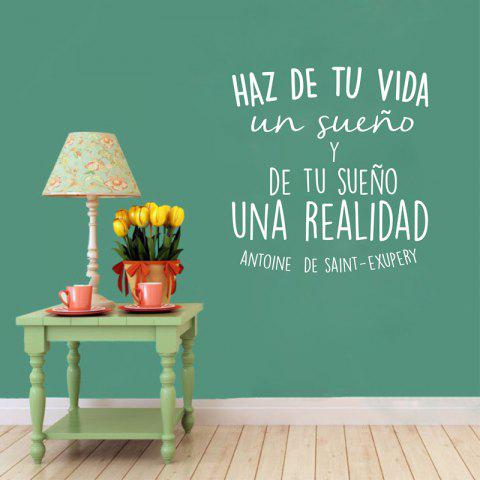 Limited Offer 2019 Spanish Inspirational Positive Quotes Vinyl Wall