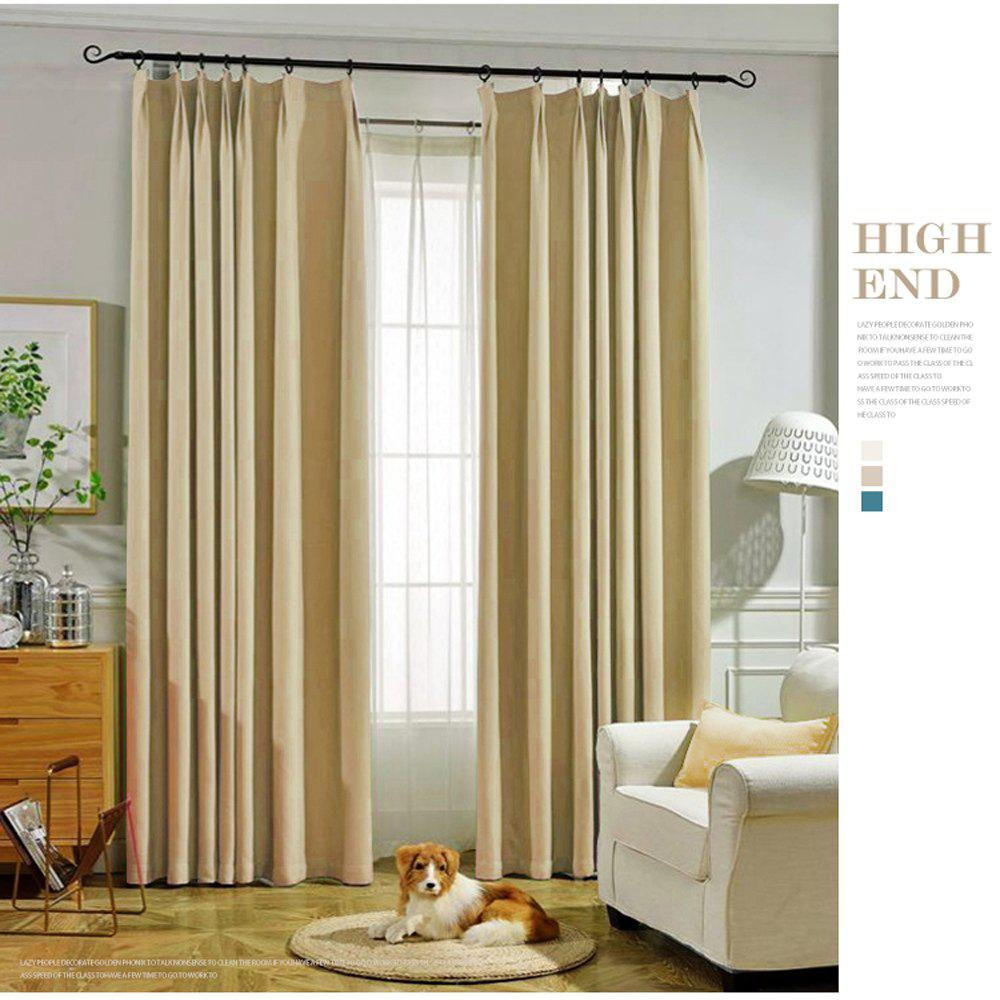 Thickened shading curtain Insulated finished curtain - PALOMINO 140MMX245MM