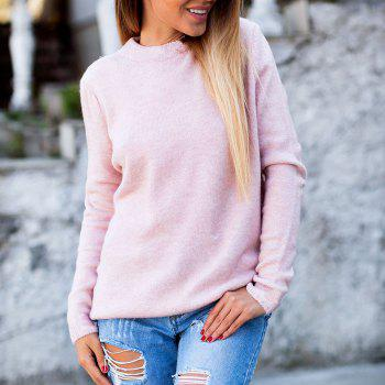 V Neck Sexy  Reversible Style Top - PINK L