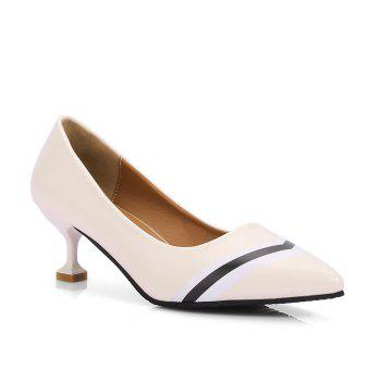 Double Color Fashionable Simple Shoes - OFF-WHITE OFF WHITE