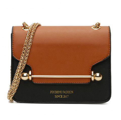 New Style Small Bag Korean Small Square Shoulder Bag Shoulder - BROWN