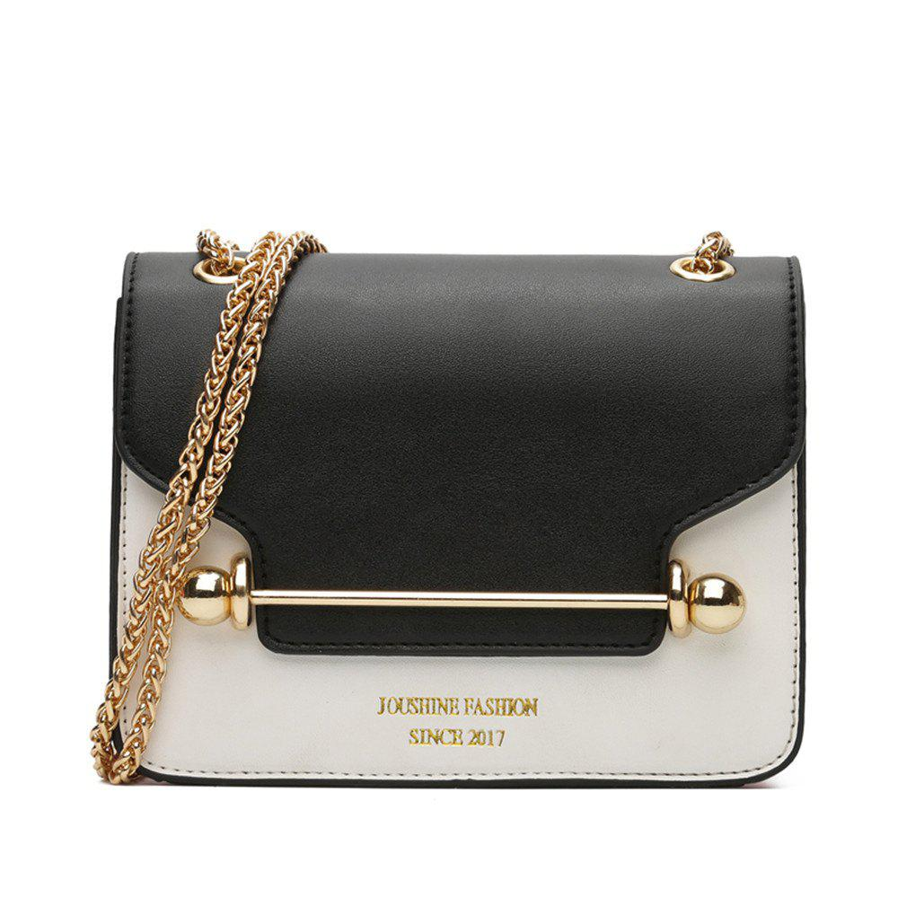 New Style Small Bag Korean Small Square Shoulder Bag Shoulder - BLACK