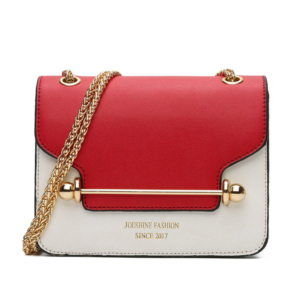 New Style Small Bag Korean Small Square Shoulder Bag Shoulder - RED