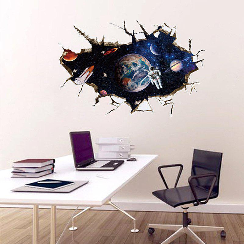 SK9066A 3D Space,The Astronauts Decorative Wall Stickers /Wall Decal astronauts level 1